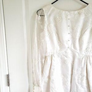 Vintage 60s Wedding Gown
